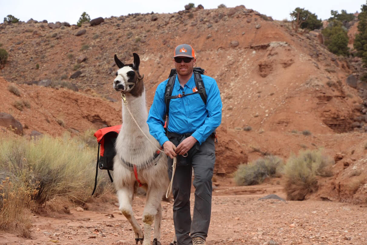 Beau Baty | Wilderness Ridge Trail Llamas