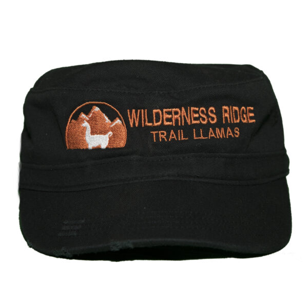 women's black hat