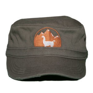grey women's hat