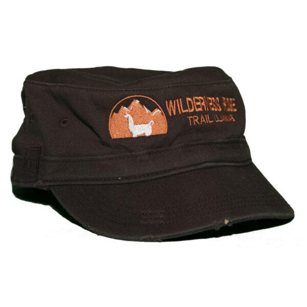 brown women's hat