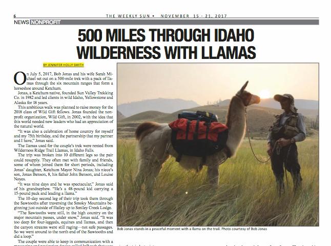 500 Miles Through Idaho Wilderness With Llamas